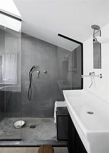 idees de salle de bain avec douche 9 une salle de bain With idee salle de bain sous pente