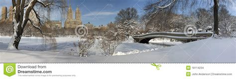 bow bridge  snow storm stock images image