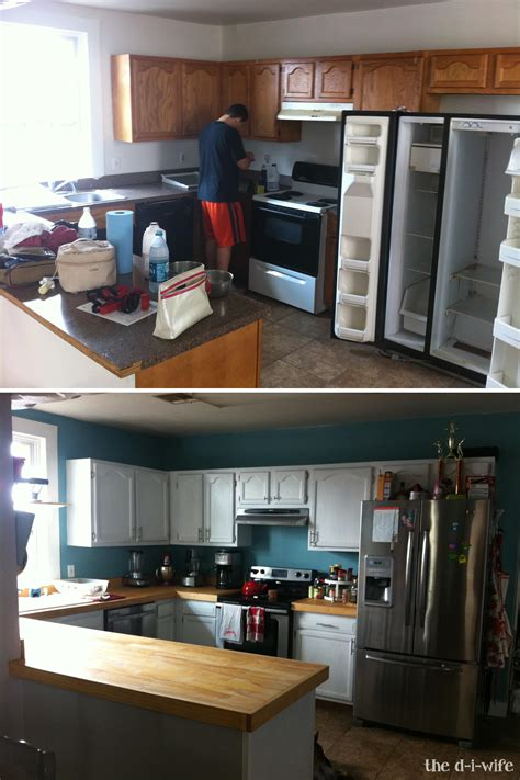 Kitchen Makeover Part Two Diy Wooden Countertops  The D