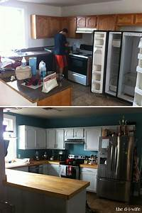 kitchen makeover part two diy wooden countertops 1246