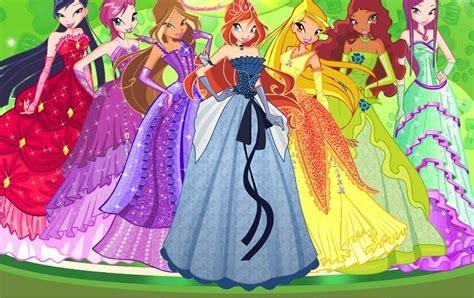 Winx Club Beautiful Dresses The Fan Art