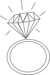 diamond ring nicole clip art  clkercom vector clip