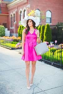 Pink Fit and Flare Dress A Southern Drawl