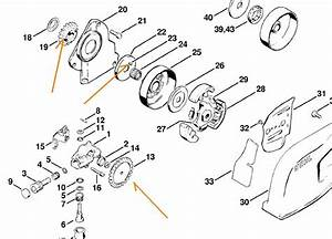 Stihl Ms 211 C Be Parts Diagram