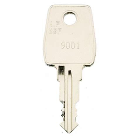 Tennsco Cabinet Replacement Keys by Emka 9001 9500 Replacement Keys Easykeys Com