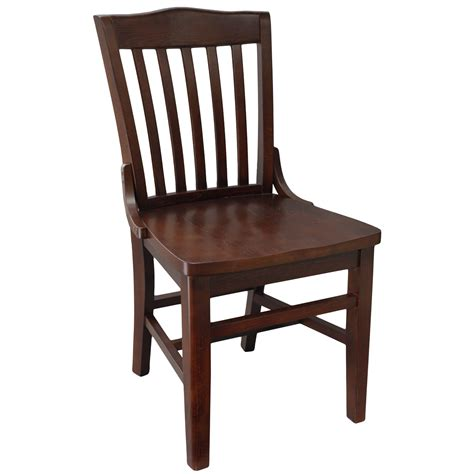 chairs wood schoolhouse chair