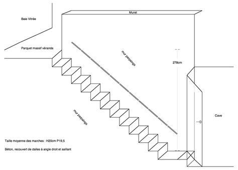 plan coffrage escalier beton conseils des des internautes bricoleurs menuiserie agrandir les marches d un escalier en b 233 ton