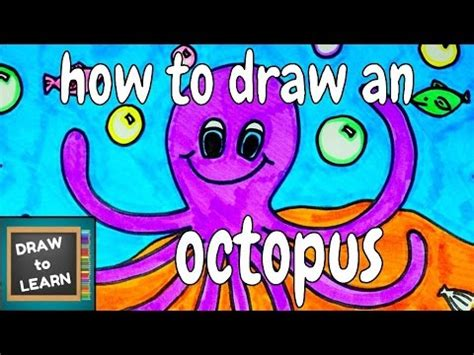 30 octopus facts for drawing lesson for 593 | hqdefault