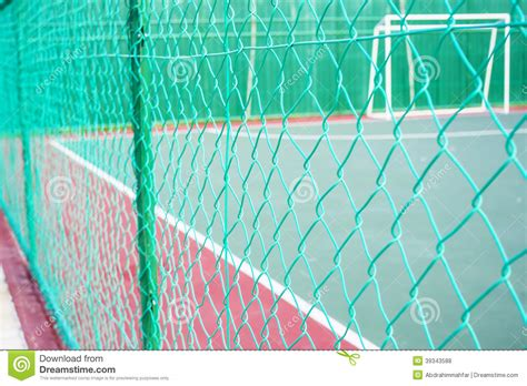 6 chain link fence green colored chain link fencing stock photo image of