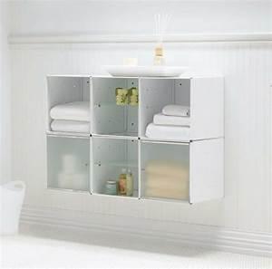 Badezimmer Hängeschrank Weiß : 67 tolle bilder von wandschrank f r badezimmer ~ Watch28wear.com Haus und Dekorationen
