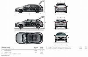 Dimension Megane 1 : renault megane 4 2016 carissime l 39 info automobile ~ Medecine-chirurgie-esthetiques.com Avis de Voitures