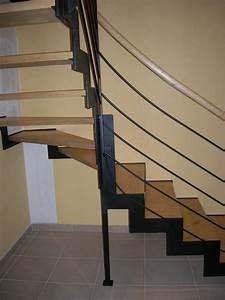 Escalier Bois Intérieur : escalier serge bontemps ~ Premium-room.com Idées de Décoration