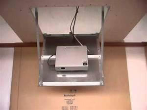 Trappe De Plafond : trappe motoris revi clap vid o youtube ~ Premium-room.com Idées de Décoration