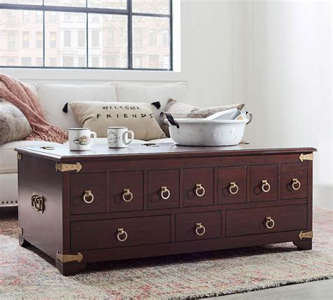 Apothecary coffee table with tray top global views. Friends Apothecary Coffee Table | Pottery Barn CA