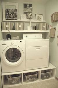 Diy, Small, Laundry, Room, Makeovers, On, A, Budget, 10