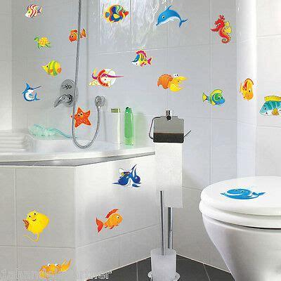 Aufkleber Für Fliesen Im Bad by Bad Meerestiere Aufkleber Delphin Dusch Fenster