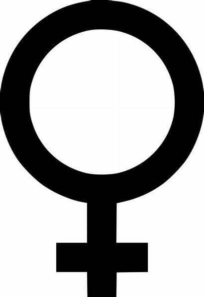 Gender Symbol Female Woman Clipart Clip Transparent