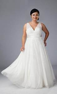 wedding dresses for large women With wedding dresses for bigger ladies