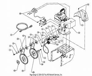 Mtd 316e756g190 Snow Boss 950st  1996  Parts Diagram For