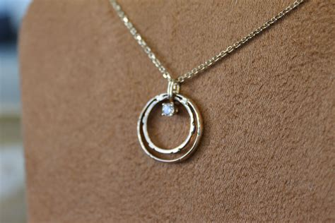 wedding band made into necklace search rings
