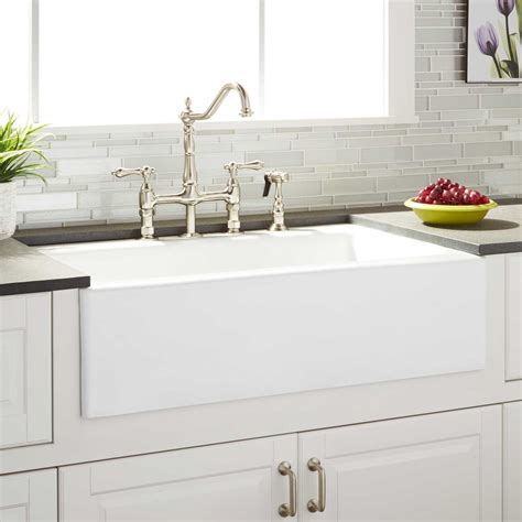 farmhouse sink faucet ideas farmhouse kitchen sinks and faucets room image and