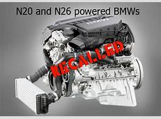 Recall for 201214 BMWs for dangerous loss of braking BMW
