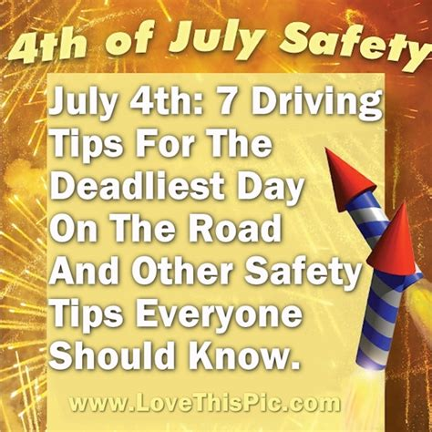 July 4th: 7 Driving Tips For The Deadliest Day On The Road