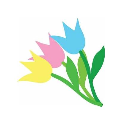 Clip Clipart Birthday Pretty Tulips Ladies Perfect