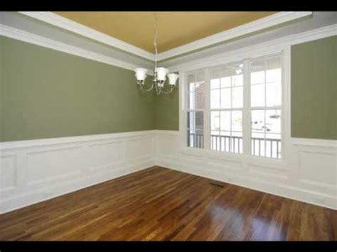 custom home design wainscoting wall treatments youtube