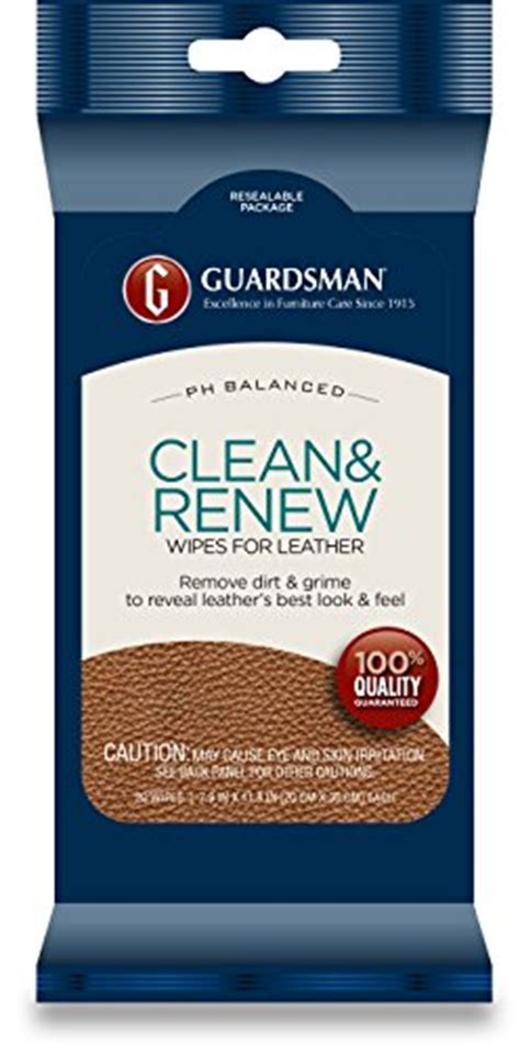 renew wood cleaner guardsman clean renew leather wipes 20 count 470200 041758031786 toolfanatic com