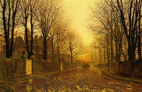 victorian british painting john atkinson grimshaw