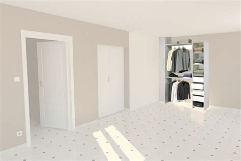 plan chambre salle de bain dressing un mini dressing pour une chambre kit placard