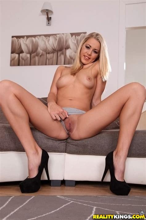 Blonde In High Heels Is Very Naughty Milf Fox