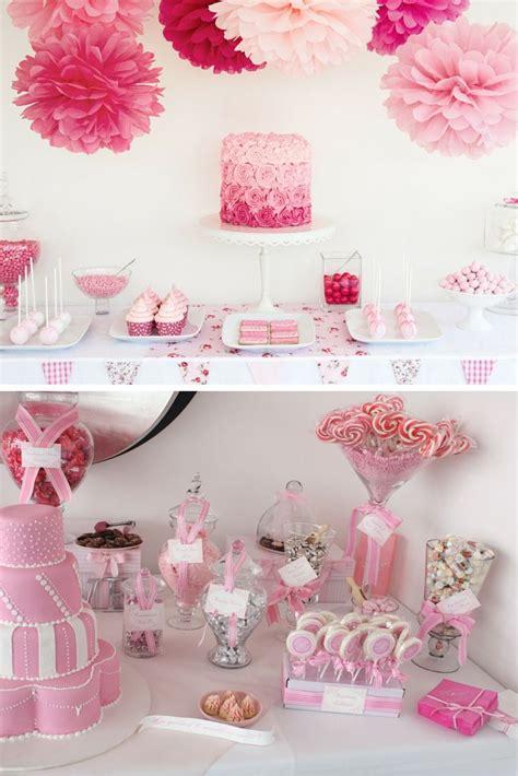 baby shower fille des idees de buffets de princesses