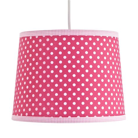 colours suisei pink polka dot light shade dcm