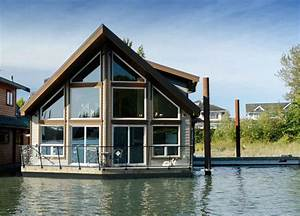 Rising River Custom Float Home  U2013 Afloat With Style