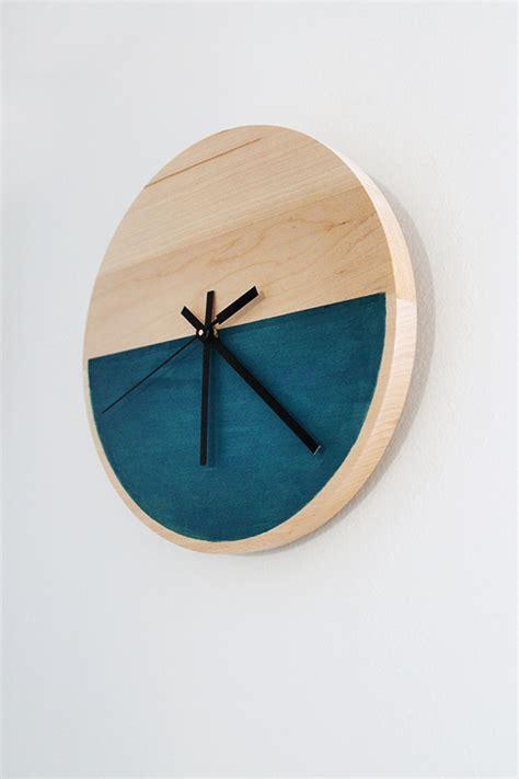 pdf diy easy wooden clock pdf diy diy wood clock project do it yourself