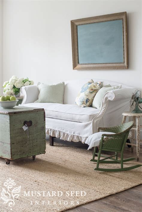 Slipcovered Settee by Slipcovered Settee A Seat Beautiful Chairs