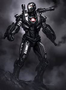 Iron Man 3 Armor Concept Designs by Andy Park - War ...