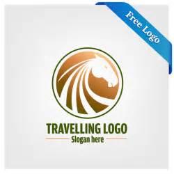 logo design gratis free vector travelling logo in ai eps format