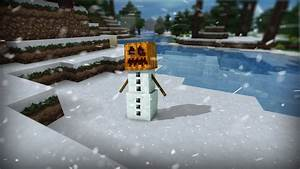 Snow Golem C4d/Photoshop by wasted49 on DeviantArt