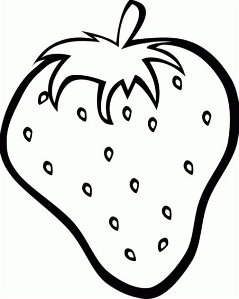 Coloring Strawberry by Fresh Strawberry Coloring Pages