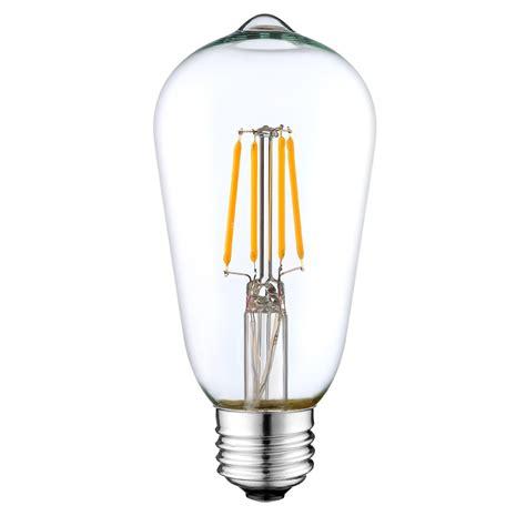 st64 led filament bulb 4 watt dimmable 25w equiv 400