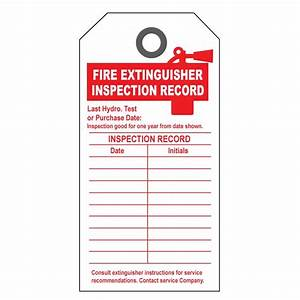 inspection form book covers With fire extinguisher inspection tag template