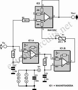 Notch Filter Design Circuit Diagram Datasheet And