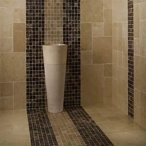 Mosaique Salle De Bain Castorama : carrelage mosaique castorama mosaique en inox noir mat et ~ Dailycaller-alerts.com Idées de Décoration