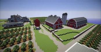 Minecraft Kitchen Ideas Ps3 by Farm House And Red Barns Minecraft Building Inc