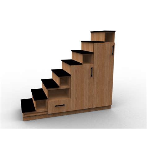 ikea amenagement cuisine meuble escalier sur mesure en bois de chêne