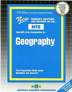 Download  Geography  National Teacher Examination Series   Content Specialty Test   Passbooks