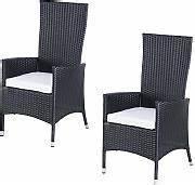 Polyrattan Stühle Günstig Kaufen : polyrattan hochlehner g nstig online kaufen lionshome ~ Watch28wear.com Haus und Dekorationen